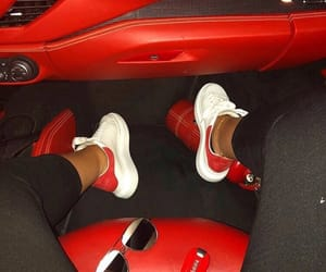 car, girls, and shoes image