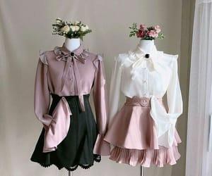 clothing, girl, and kfashion image