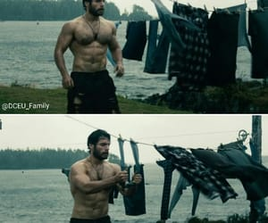 Henry Cavill, man of steel, and justice league image