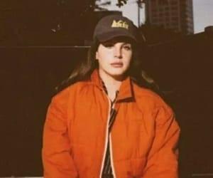 lana del rey, orange, and grunge image