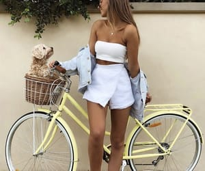 bike, summervibes, and me image