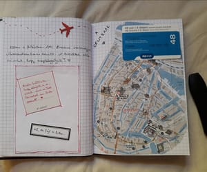 amsterdam, scrapbook, and journal image