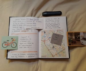 amsterdam, journal, and scrapbook image