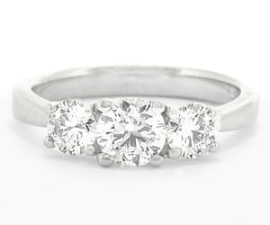 diamonds, engagementring, and commins&co image