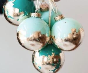 balls, christmas decoration, and christmas toys image