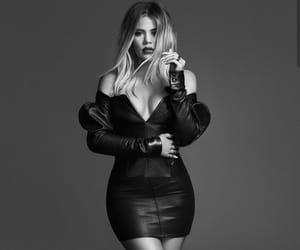 black & white, girl, and kardashian image
