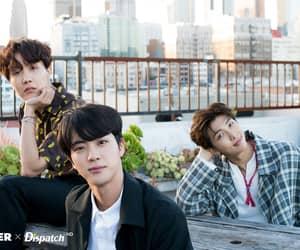 jin, j-hope, and hoseok image