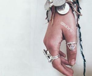 boho, bracelets, and rings image