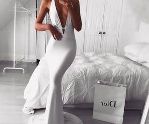 white dress, fashion inspo, and tumblr+instagram image