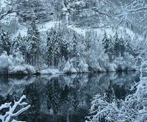 beautiful, ski, and lake image