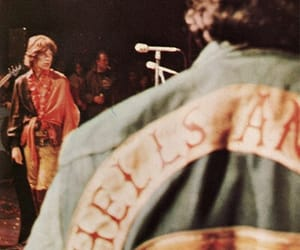 mick jagger, 60s, and Hells Angels image