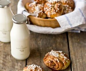 milk, food, and breakfast image