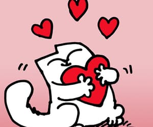 animal, cartoon, and valentine image