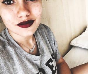 black, colour, and makeup image