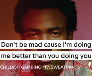 music, quote, and donald glover image