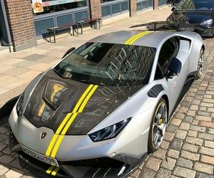 car, Lamborghini, and huràcan image