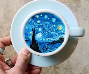 art, paint, and van gogh image