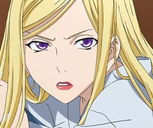 anime, noragami, and bishamon image