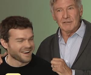 handsome, harrison ford, and gif image