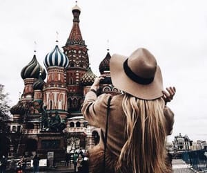 buildings, wander, and girl image