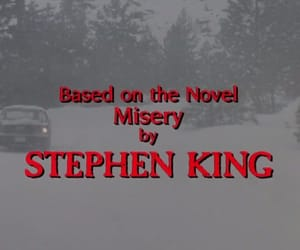 misery and Stephen King image