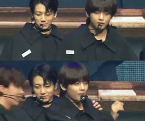couple, bts, and vkook image