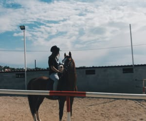 Greece, horse riding, and horse love image