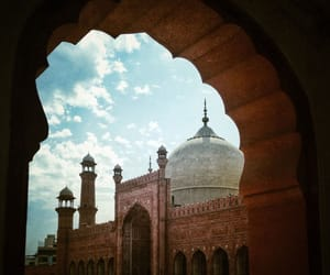 beauty, Lahore, and mosque image