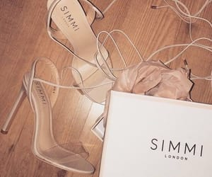 heels, shoes, and simmi image