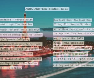 playlist and anna and the french kiss image