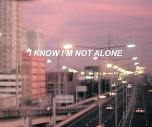 wallpaper, alone, and Lyrics image