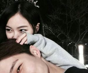 love, ulzzang, and couple image