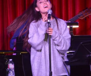 candid, celebrity, and ariana image
