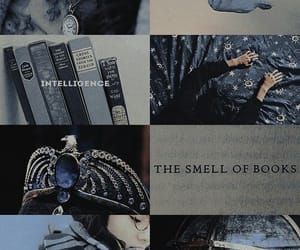 blue, book, and harry potter image