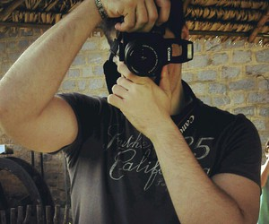 boyfriend, camera, and canon image