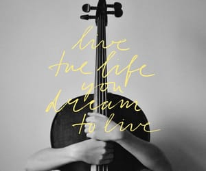 cello, quote, and motivation image