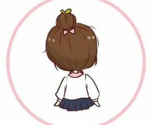 cartoon, girl, and girlish image