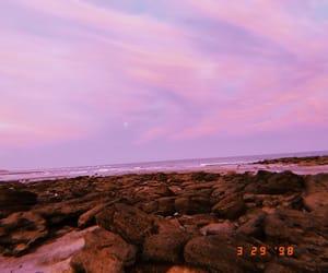 beach, beautiful, and retro image