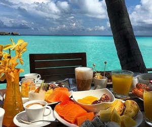breakfast, enjoy, and relax image