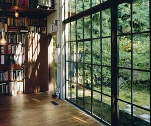 book, window, and home image