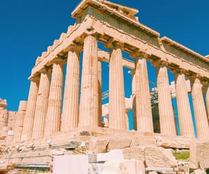acropolis, summer, and we heart it image