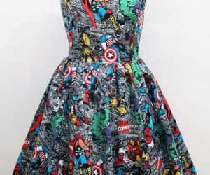 dress and Marvel image
