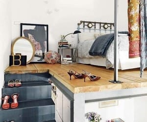 bed room, home, and shoes image