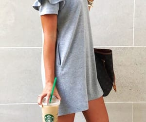 casual, dress, and fashion image