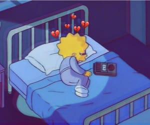 sad, the simpsons, and lisa simpson image