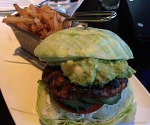 guac, iceberg lettuce, and hamburger & fries image