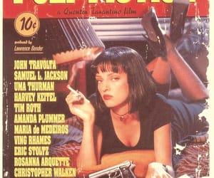 pulp fiction, movie, and uma thurman image