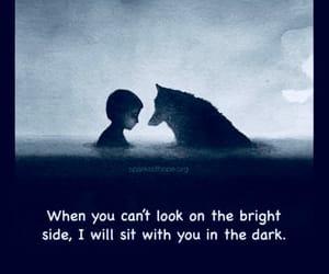 compassion, dark side, and true friend image