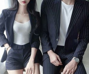 couple, kfashion, and fashion image