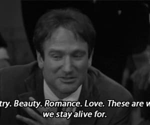 gif, quotes, and dead poets society image